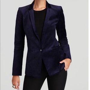 Elie Tahari Bethany Stretch Velvet Jacket